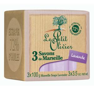 Le Petit Olivier Marseille Soaps Lavender