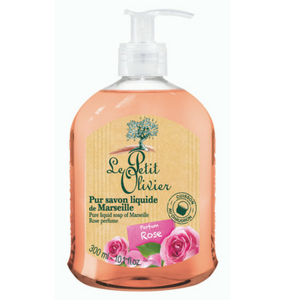 Le Petit Olivier Pure Liquid Soap Rose Perfume