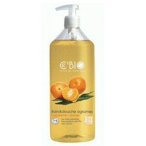 Cébio shower and bath citrus with mandarin and orange