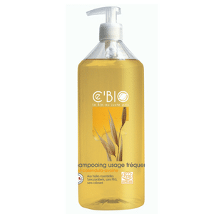 ce bio shampooing usage fréquent miel calendula avoine