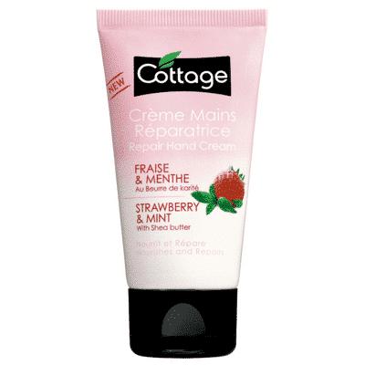 Cottage Crème main fraise et menthe 50ml.|