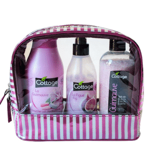 Cottage Toiletry bag Marshmallow and fig