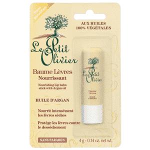 le petit olivier baume à lèvres huile d'argan 4gr