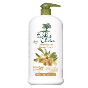 le petit olivier savon douche lait d'argan