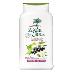 Le Petit Olivier Shower Cream Jasmine Blackcurrant|