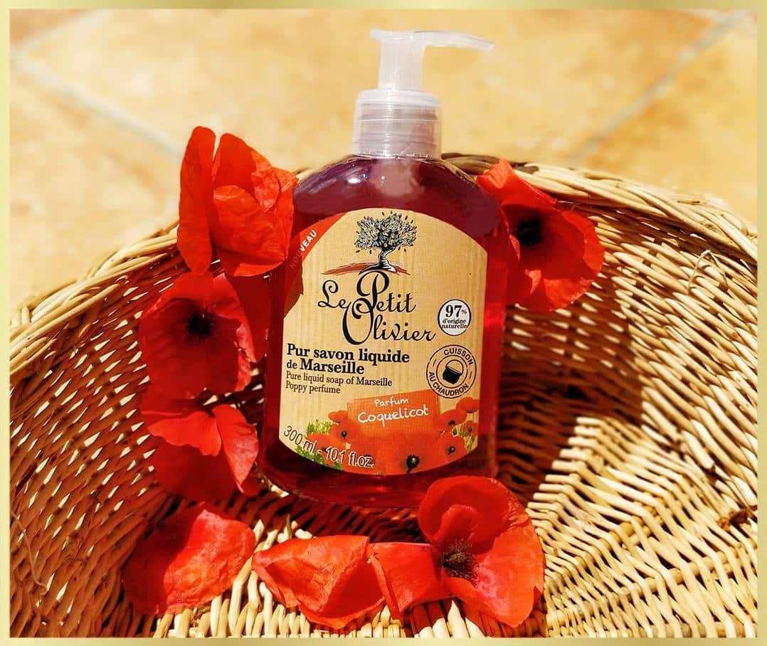 pur liquid soap coquelicot perfume