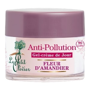 le petit olivier gel crème jour antipollution moringa et fleur d'amandier