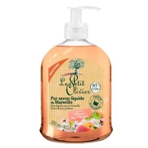 Le Petit olivier savon pompe fleur de pecher-min