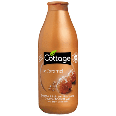 Cottage Douche lait gourmand Caramel 750ml.