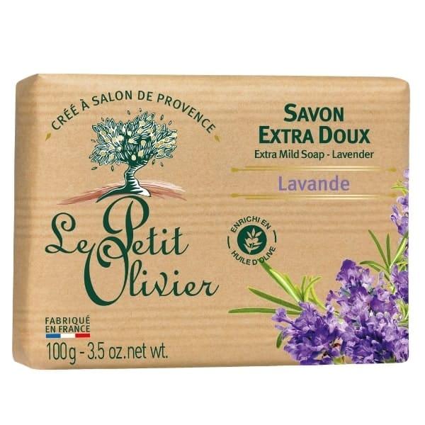 Le Petit Olivier savon 100gr lavande-min