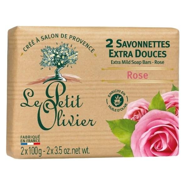 Le Petit olivier savon 2x100gr rose-min
