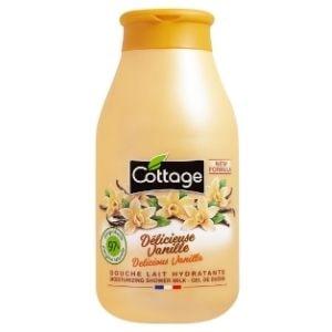 Cottage douche lait hydratant délicieuse vanille 250ml.-min