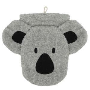 Gant de toilette koala