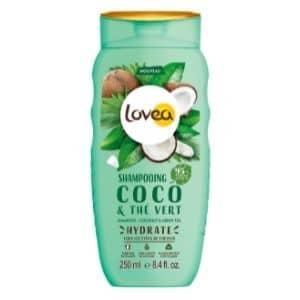 Lovea Shampooing coco et thé vert tous types de cheveux