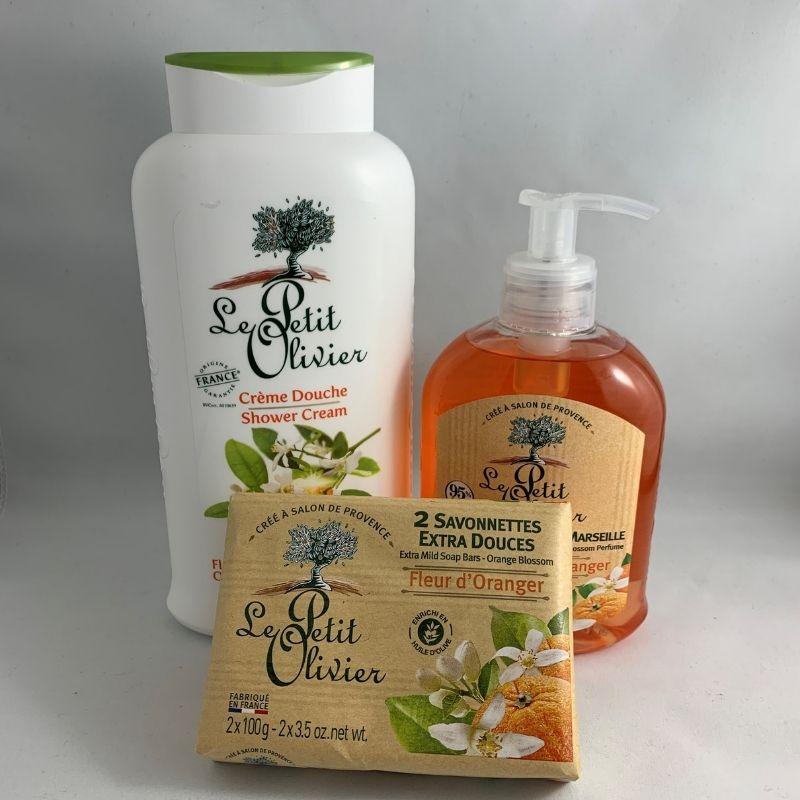 oranger douche savon savon à mains